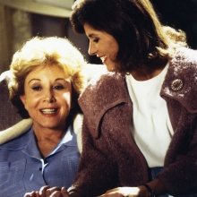 Judy with Michael Learned