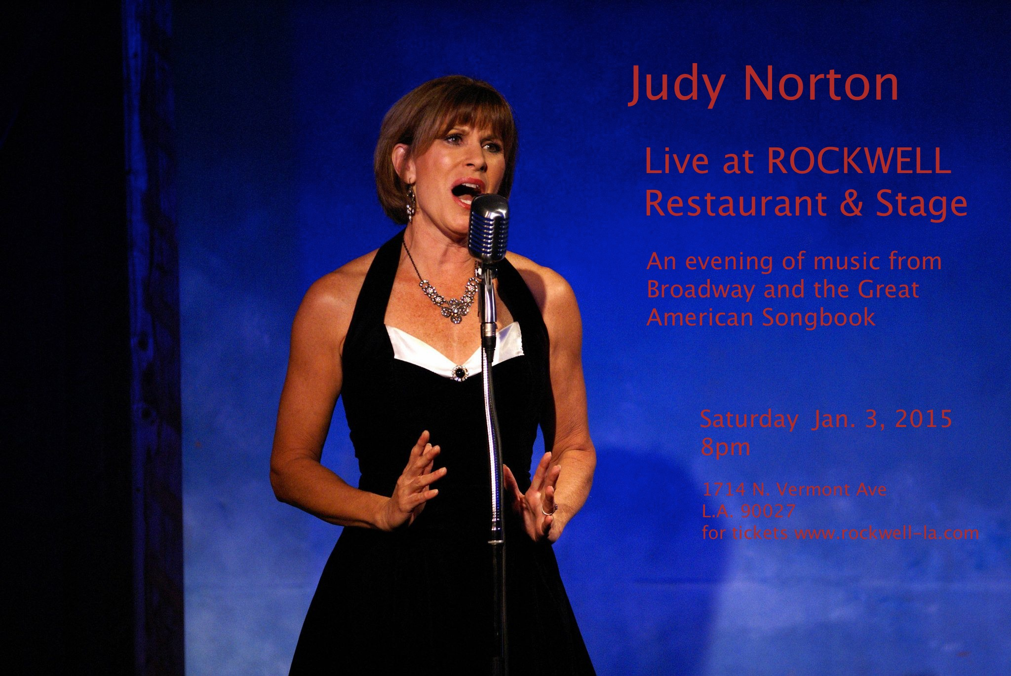 Judy Norton to Headline at Rockwell Club