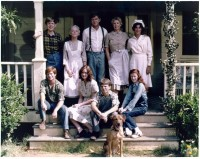 The Waltons - On Steps With Dog