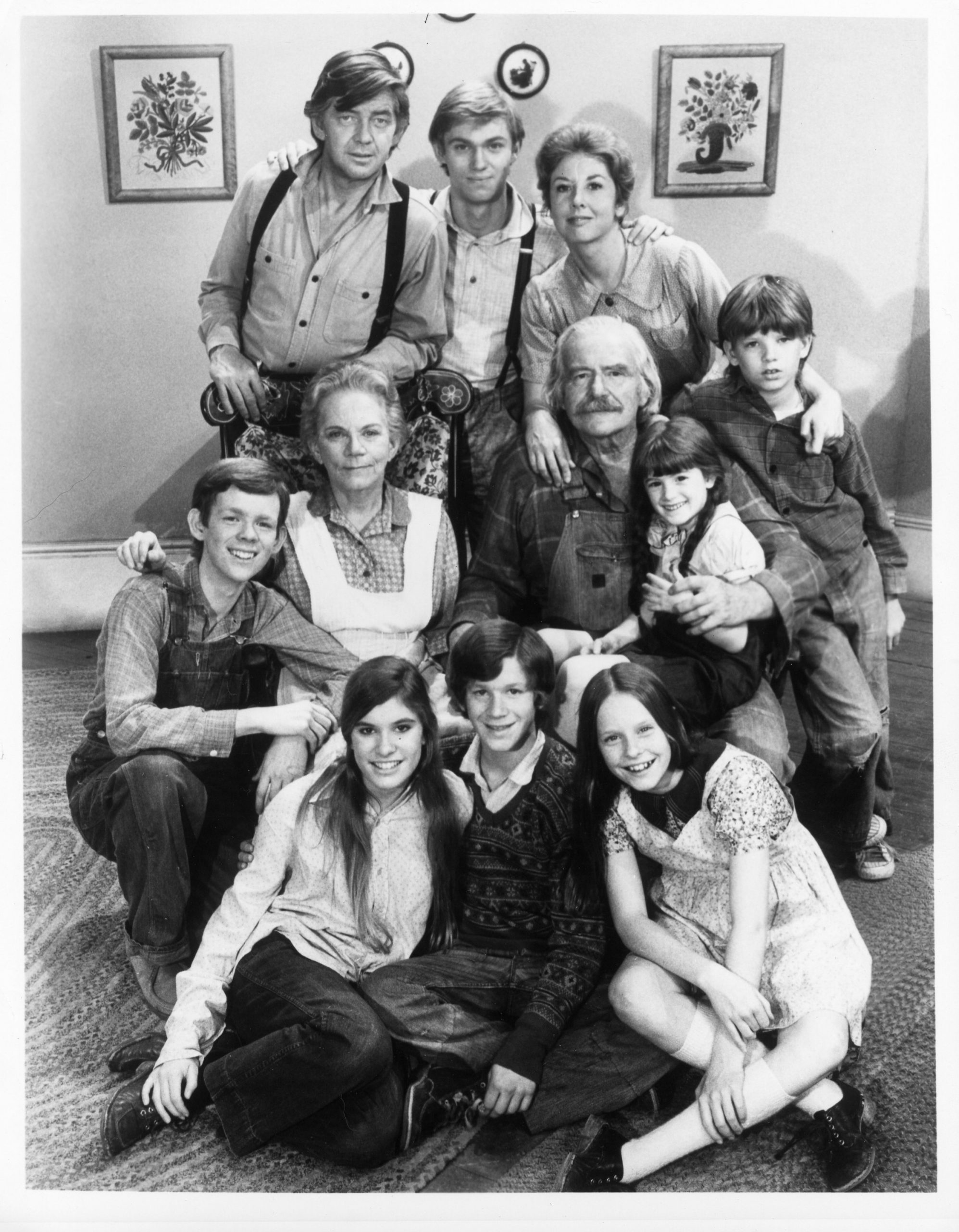 The Waltons In Living Room